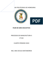 Pla de Gira Educativa
