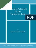 42. Kinship Relations in the Gospel of John Catholic b