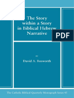 45. the Story Within a Story in Biblical Hebrew Narrat