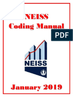 2019 NEISS Coding Manual