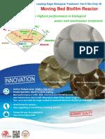 biochip MBBR in wastewater treatment