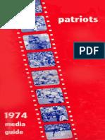 1974 Patriots