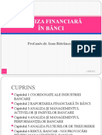 Curs Analiza Financiara in Banci