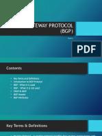 Protocol BGP
