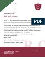 Carta de Presentacion Empresa Calzado R.C