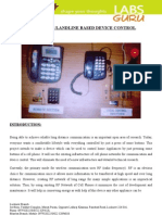 LGEC023 Cell Phone Based Home Appliance Control