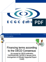 Financial terms according to the OECD Consensus