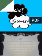 Pak Ganern ASSESSMENT