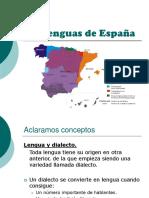 2 Bachillerato. Lenguas y Dialectos de Espana Ppt