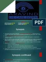 Arvind Eye Care Ppt 1