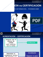 Certificacion vs acreditacion