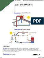 Sistemul Solar Termic - Panouri Solare
