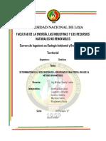 Informe Metodo Gravimetrico Jipiro