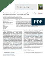 Tratamiento Anaeróbio in Situ Del Agua Negra Utilizando Un Sistema Empaquetado Basado en fi Ltro Como Alternativa Al Tanque Séptico Convencional