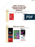 Convolution and Correlation of Signals for PDF