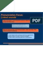 Pronunciation - Linked Sounds