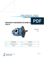 Informe tecnico Bomba Hidraulica Prensa1 + manual