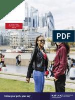 City University of London International Pathways Guide