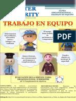 Poster Clima Organizacional - Trabajo en Equipo.