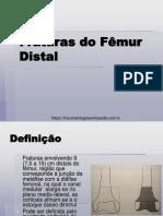 Fraturas Do Fêmur Distal