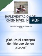 Procesos de Implementación Del Cneb-Inicial Piura