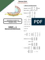 Namma Kalvi 12th Maths Unit 1 Study Material Em 215285