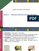 UD01 T01 Sistemas Gestores BDD