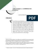 Método teológico y credibilidad del cristianismo por José Serafín Béjar en Theologica Xaveriana 64 177 2014.pdf