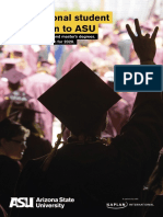 Arizona State University International Admissions Booklet