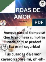 CUERDAS DE AMOR LETRA