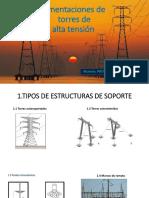 Cimentaciones de torres de alta tension, aplicacion