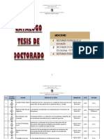 Catalogo de Tesis de Doctorado Web