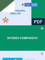 INTERÉS COMPUESTO, VAN Y TIR (1).pptx