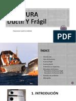 Ductil y Fragil