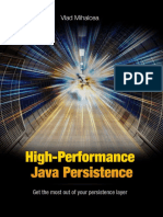 High Performance Java Persistence Sample Preview