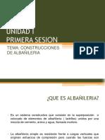 UNIDAD I - TEMA CONSTRUCCIONES EN ALBAÑILERIA.pptx