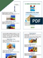 DÍPTICO 8 Regiones Del Peru