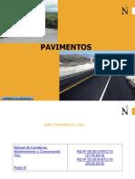 Mantenimiento rutinario de pavimentos