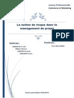 Management des risques du projet.docx