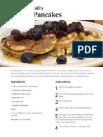 Kernza Pancake Recipe