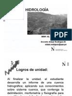 Semana 1 - HIDROLOGÍA - El Sistema Cuenca - Introducciónn