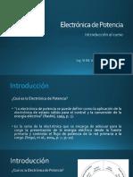 Electrónica de porencia