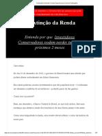 A Extinção Da Renda _ Fundos Expert Inversa _ Inversa Publicações