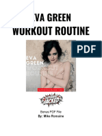 Eva Green Workout PDF