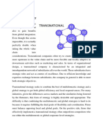 TN ~ Transnational + International Strategy