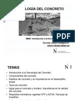 Sesión 1 - TECCON - Introducción a La Tecnología Del Concreto