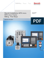 Rexroth IndraMotion MTX micro MTX micro Trainer Milling - First Steps