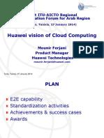 Huawei vision of Cloud Computing