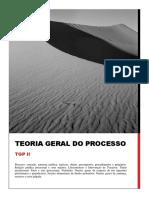Teoria Geral Do Processo II