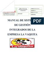 Manual SGI La Vaquita SA